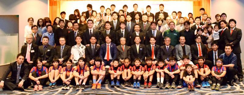 琉球コラソン「来季は日本一」/シーズン終了報告