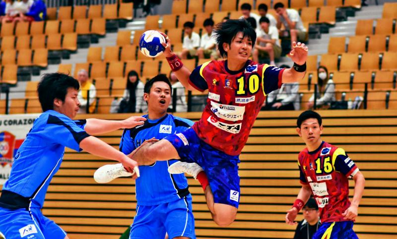 コラソン39点 初戦圧勝/ハンドボール/全日本社会人選手権